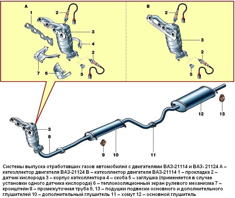 глушитель шума всасывания воздуха для шевроле авео система представляет