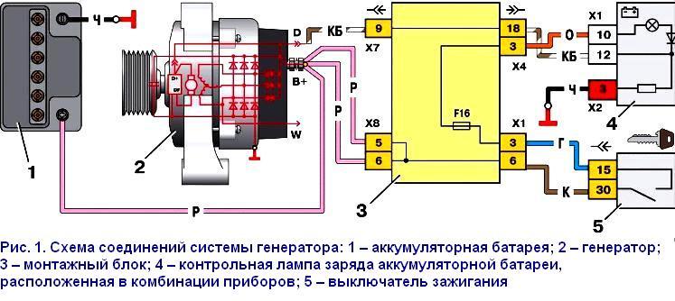 Схема генератора 80 а