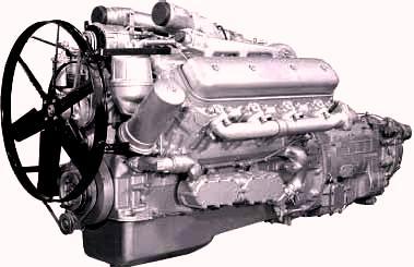 Основные параметры и характеристики двигателей ЯМЗ-238