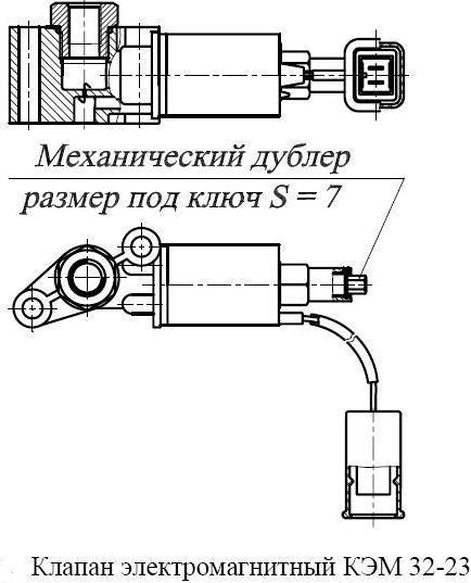 электромагнитный КЭМ 32-23