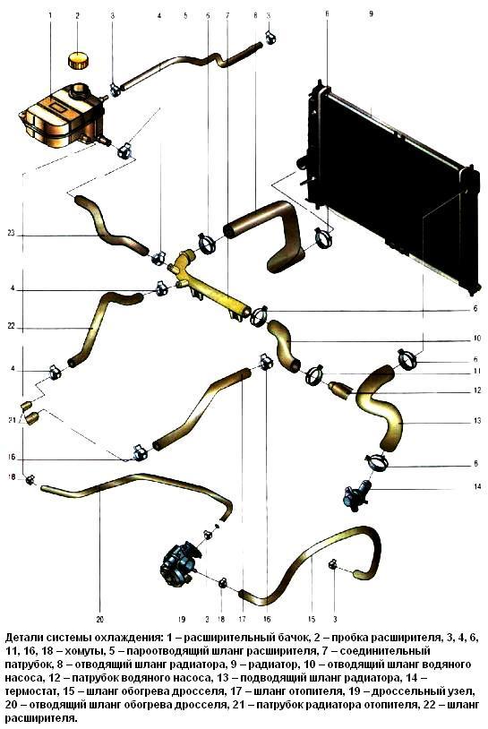 Двигатель шевроле авео 1.2 схема 283