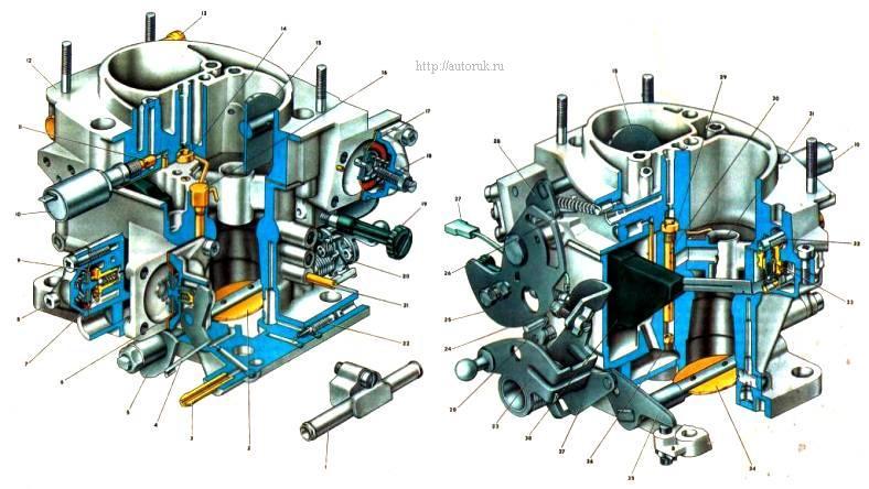 Топливный жиклер экономайзера