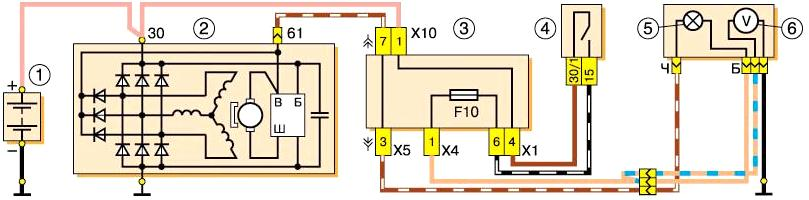 Генератор 37.3701 ВАЗ-2107