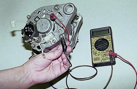 Как разобрать электрогенератор бензиновый выпрямительного блока
