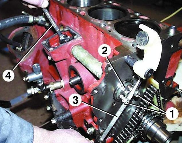 промежуточная шестерня 406 двигателя? видео