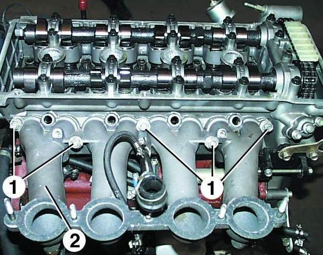 Схема головки газ 3110
