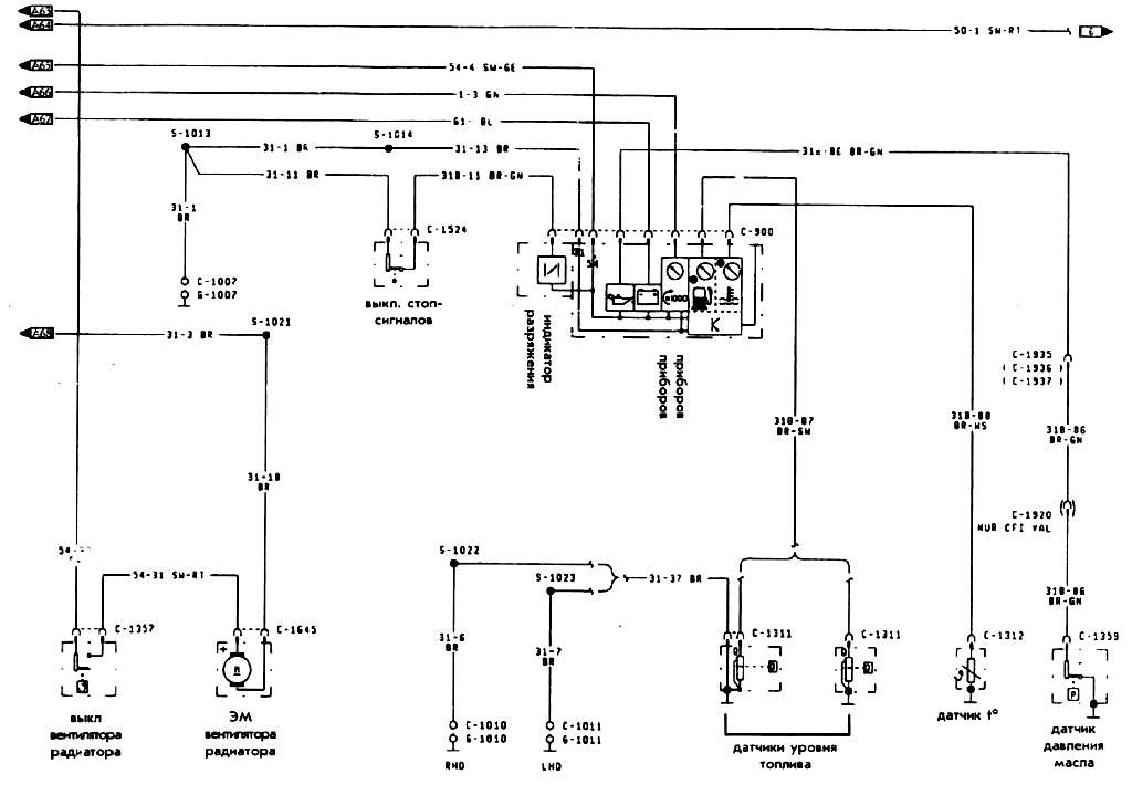 Электрическая схема зил 5301 бычок фото 807