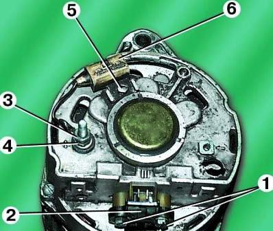 Ремонт генератора 1631.3701