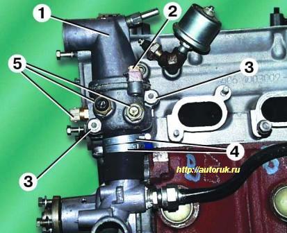 Как заменить термостат на газели 406 видео после курения болит желудок