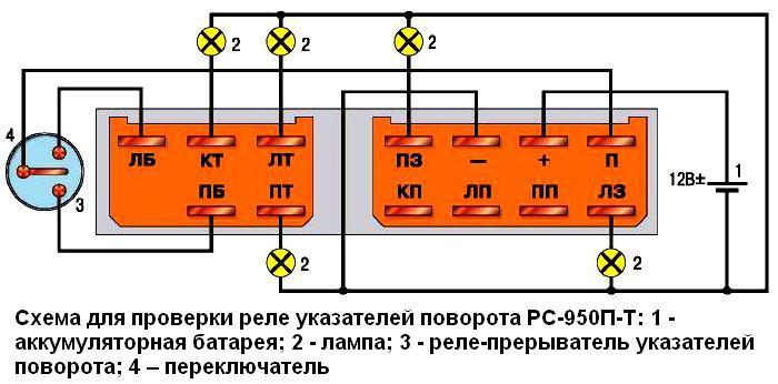 реле типа РС-950П-Т