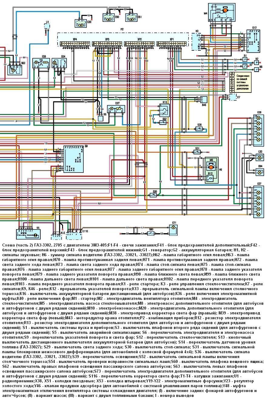 Газ 3302 схема предохранителей фото 933