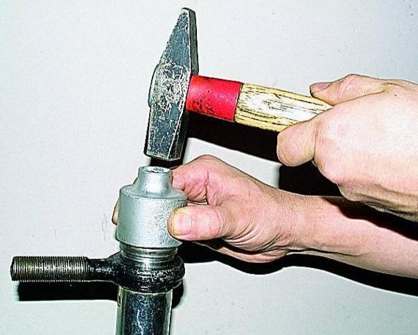 Замена рулевых наконечников на газели своими руками