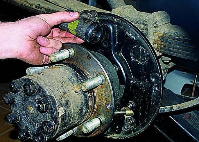 Газель ремонт своими руками тормоз
