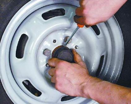 Колпачок ступицы на диски передних колес для форда 1