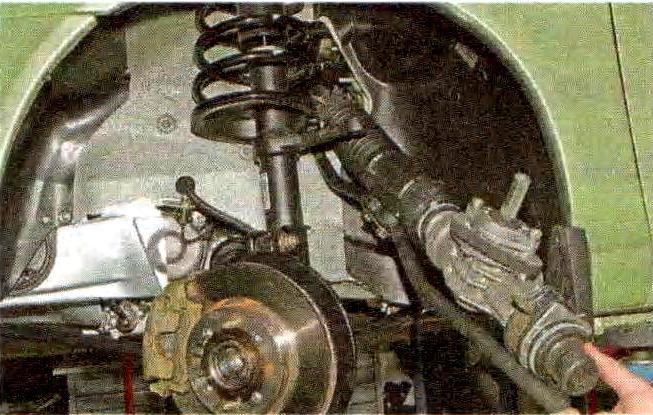 Ремонт рулевой рейки на калине своими руками фото
