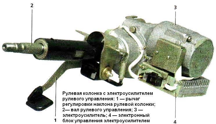электроусилителем рулевого