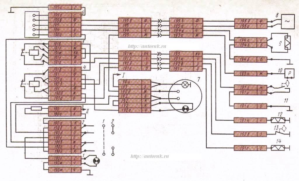 Рис. Электрическая схема