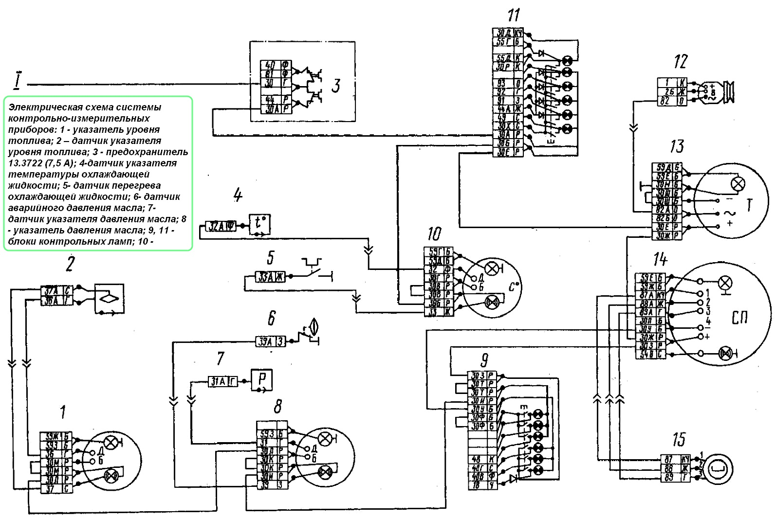 Схема датчика измерителя температуры
