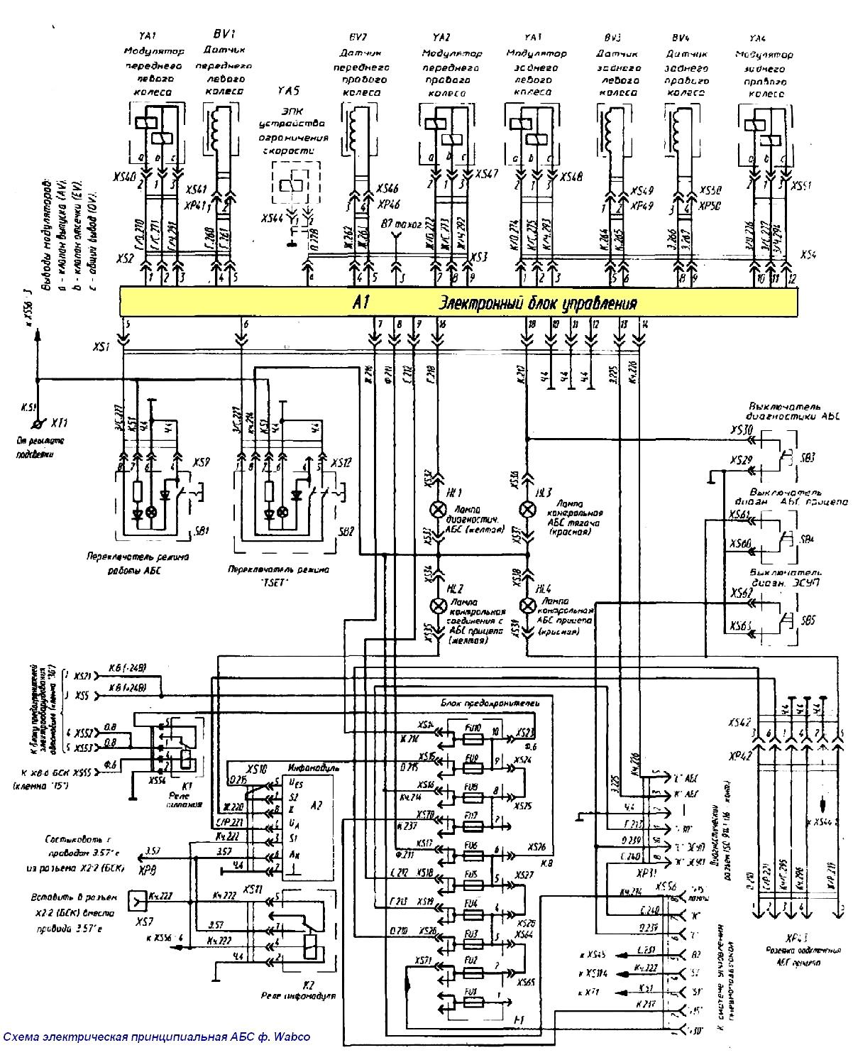 Схема проводки маз 6433а5-320 цветная Вязание с бисером сумочек крючком и на спицах biser