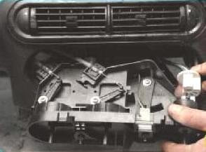 как снять регулятор печки на niva chevrolet