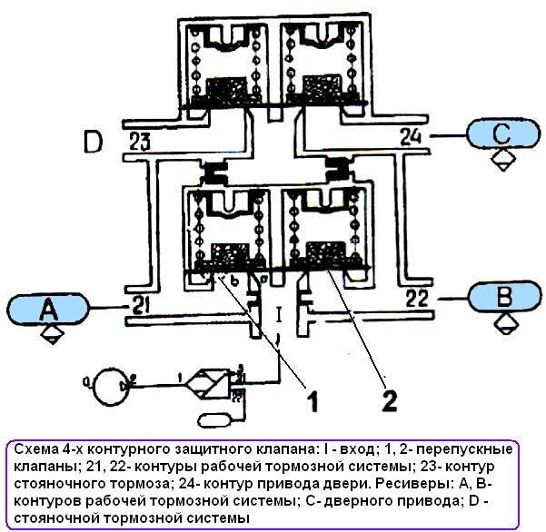 Схема 4-х контурного