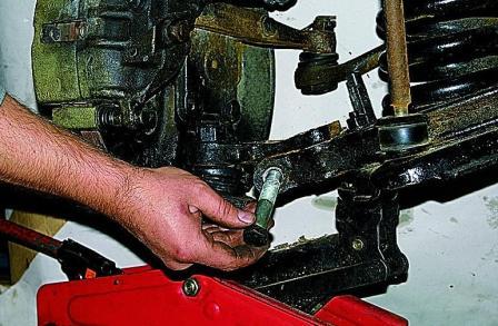 Ремонт передней подвески газ своими руками