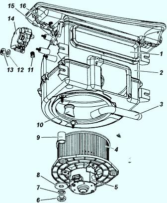 Схема автомобиля - УАЗ