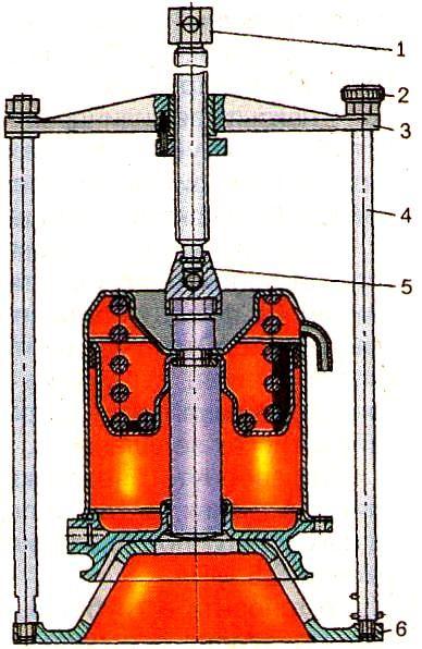 Разборка энергоаккумулятора камаз своими руками